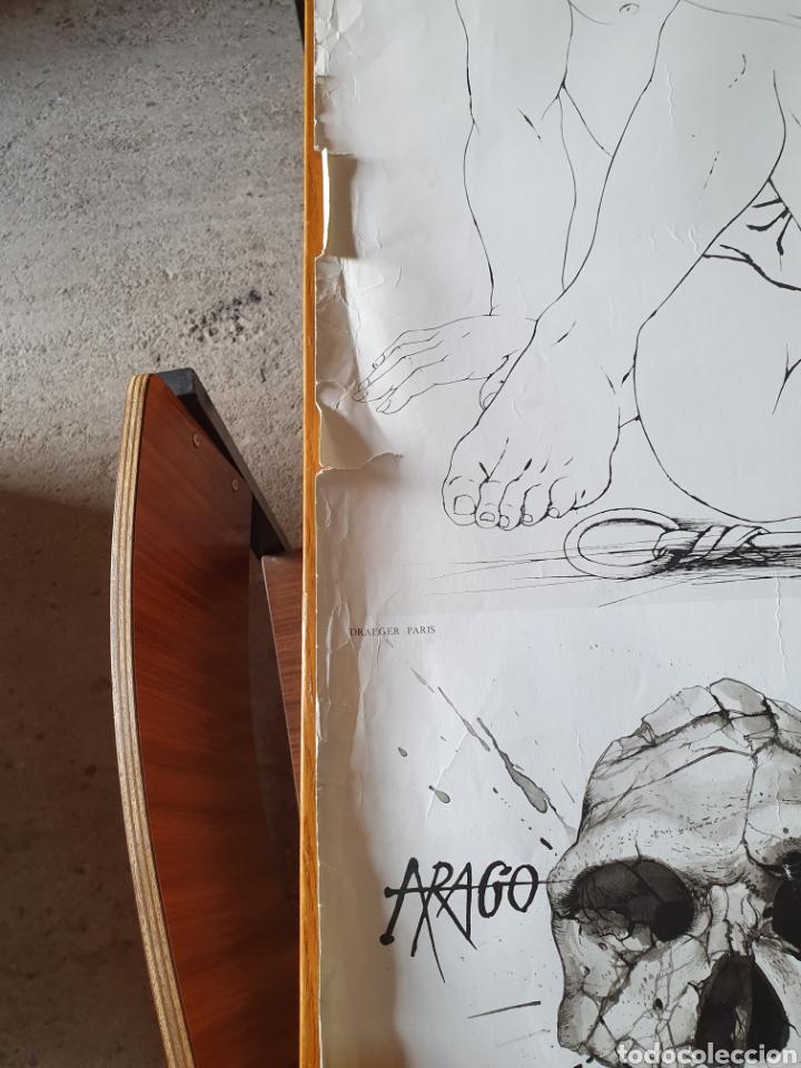 Carteles de Turismo: Musée de préhistoire, tautavel en roussillon, 22 / 7 / 71, 86 cm x 74, ver fotos. - Foto 7 - 200013813