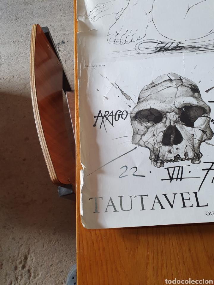 Carteles de Turismo: Musée de préhistoire, tautavel en roussillon, 22 / 7 / 71, 86 cm x 74, ver fotos. - Foto 8 - 200013813