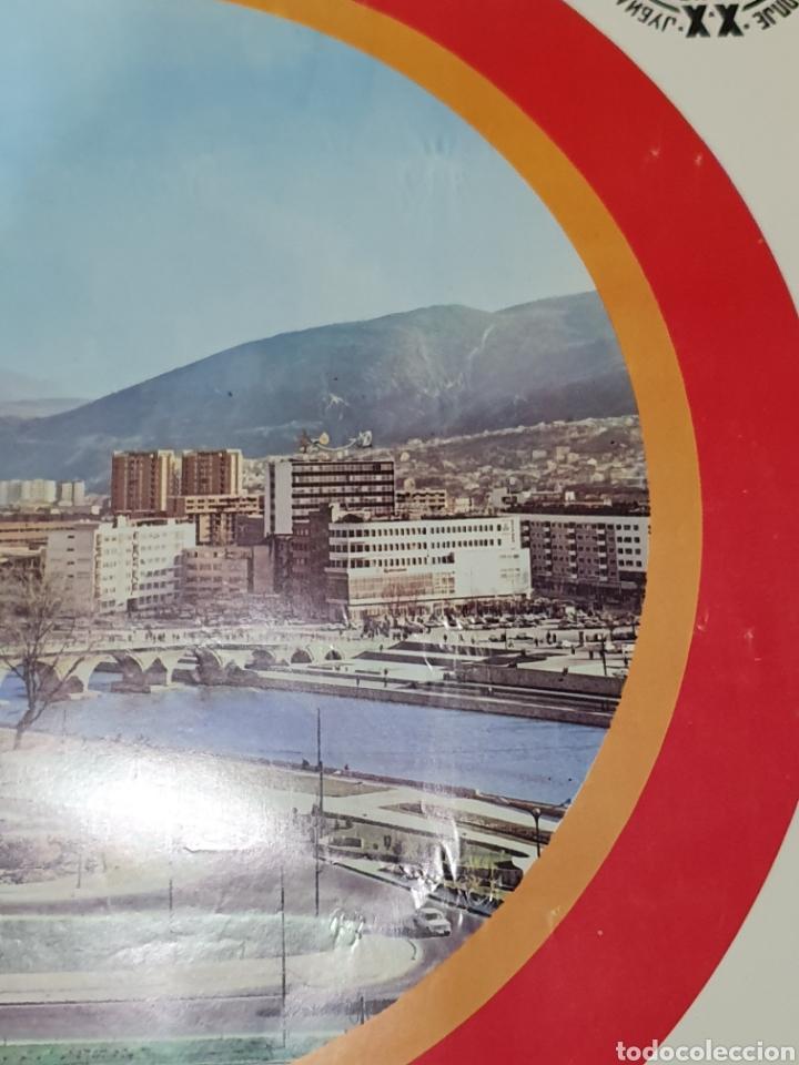 Carteles de Turismo: Skopje, makedonija, jugoslavija, 1972, 68 cm x 48 cm. - Foto 6 - 200015031