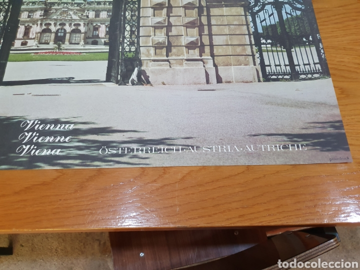Carteles de Turismo: Wien, Viena, österreiich, Austria, autriche, de los 70, 84 cm x 59 cm. - Foto 4 - 200016600