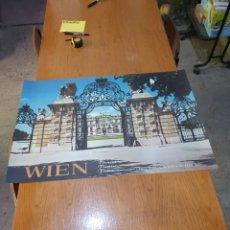 Carteles de Turismo: WIEN, VIENA, ÖSTERREIICH, AUSTRIA, AUTRICHE, DE LOS 70, 84 CM X 59 CM.. Lote 200016600