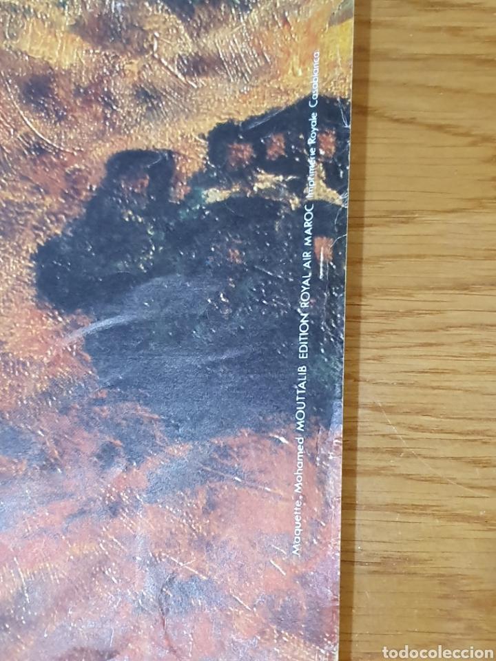Carteles de Turismo: Colors of morocho, royal air maroc, 95 cm x 69 cm, de los años 70, - Foto 4 - 200017870