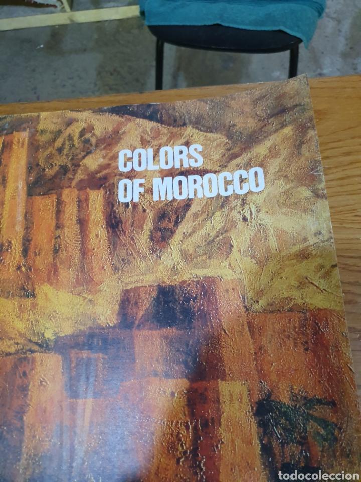 Carteles de Turismo: Colors of morocho, royal air maroc, 95 cm x 69 cm, de los años 70, - Foto 5 - 200017870