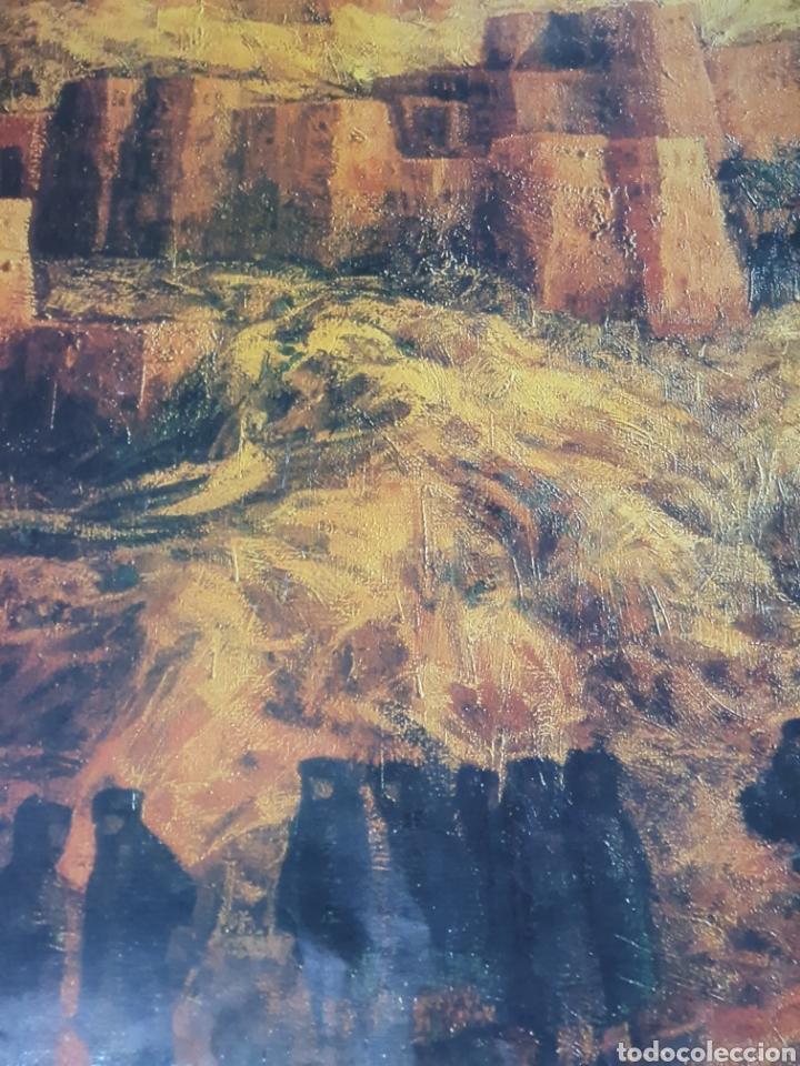 Carteles de Turismo: Colors of morocho, royal air maroc, 95 cm x 69 cm, de los años 70, - Foto 6 - 200017870