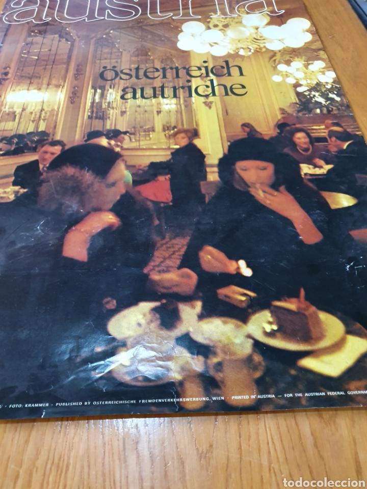 Carteles de Turismo: Austria, österreich, 84 cm x 59 cm, años 70. - Foto 4 - 200026011