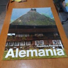 Carteles de Turismo: REPÚBLICA FEDERAL DE ALEMANIA, SCHWARZWALDHAUS, 84 CM X 59 CM,.. Lote 200059197