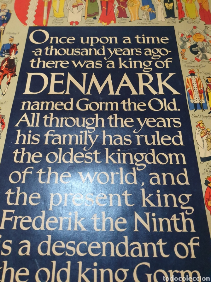 Carteles de Turismo: Denmark, 100 cm x 63 cm. 1960. - Foto 4 - 200062921