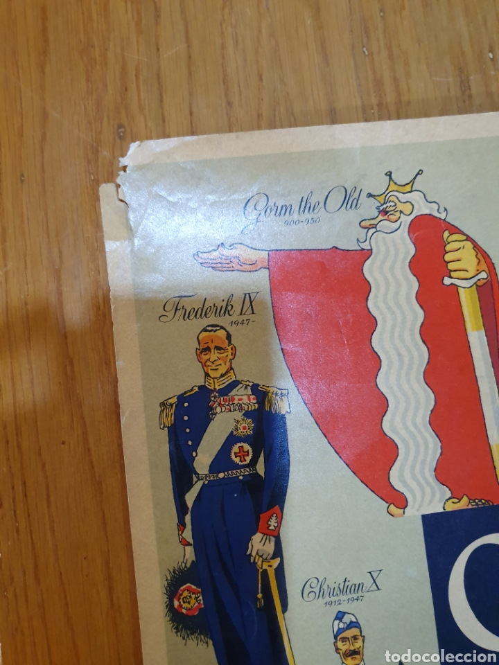 Carteles de Turismo: Denmark, 100 cm x 63 cm. 1960. - Foto 11 - 200062921