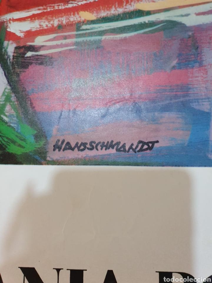 Carteles de Turismo: Alemania por ferrocarril, firmado, hansschmandt, 15/ 68, 100 cm x 62 - Foto 3 - 200064172