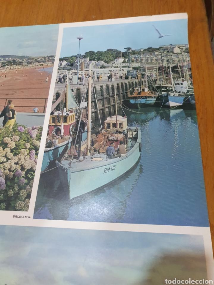 Carteles de Turismo: Britain, torbay, devons golden playground, 102 cm x 63 cm. - Foto 3 - 200065522