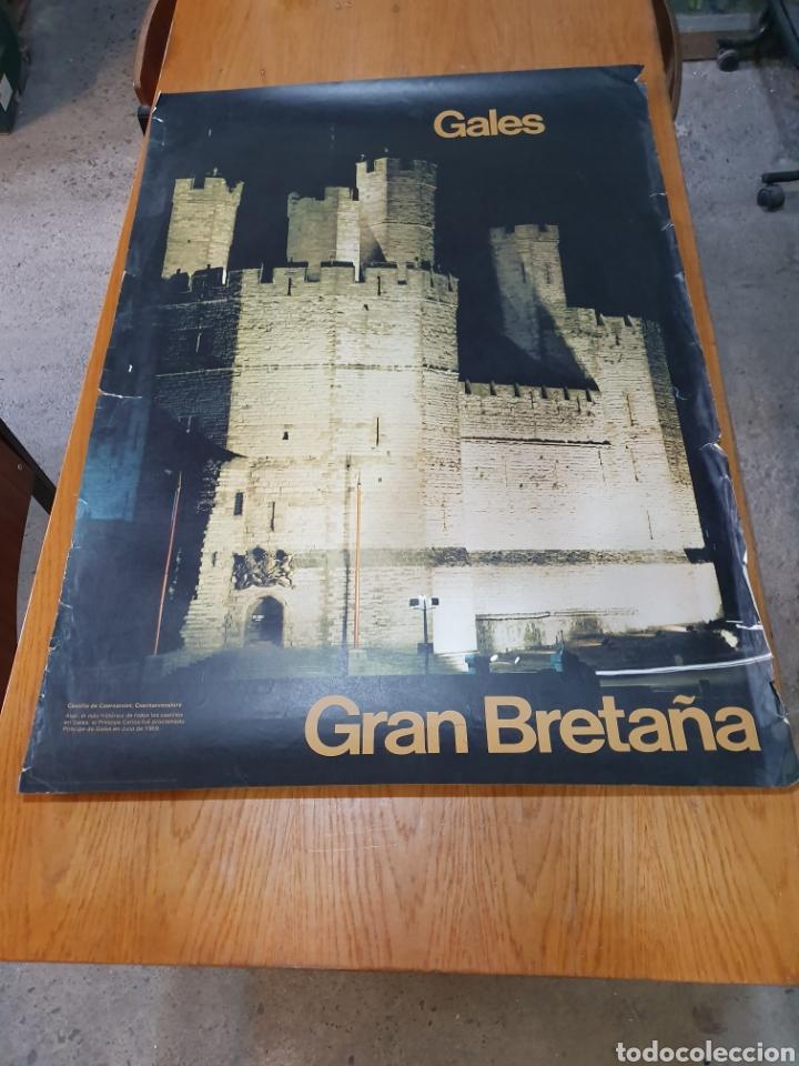 GALES, GRAN BRETAÑA, DE 1970 100 CM X 71 CM. (Coleccionismo - Carteles Gran Formato - Carteles Turismo)