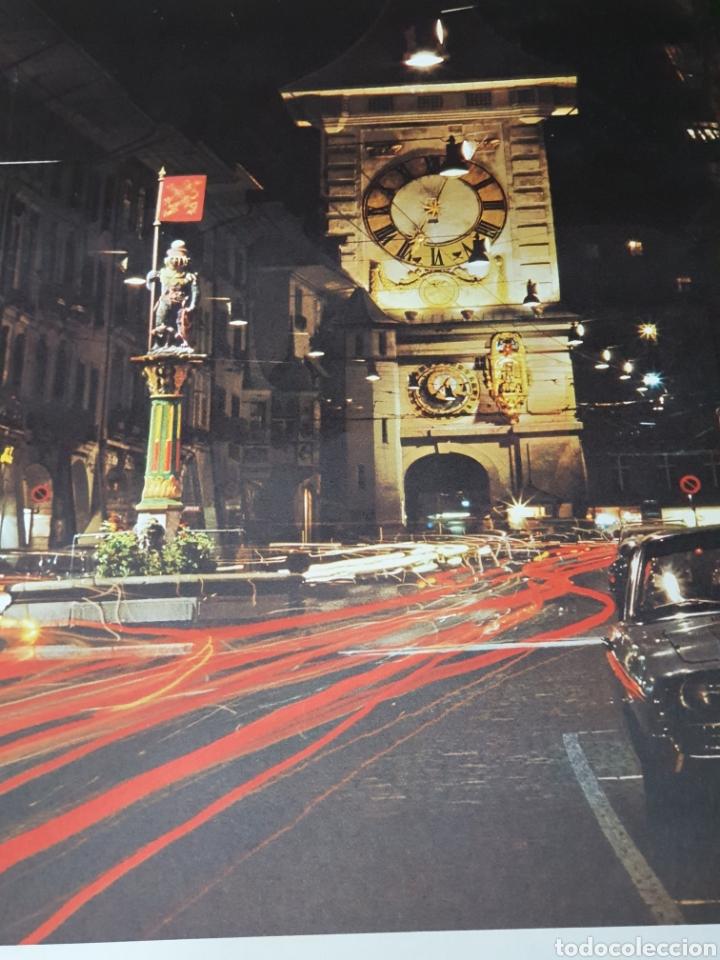 Carteles de Turismo: Bern, la capitale romantique de la sise, años 70, 102 cm x 64 cm. - Foto 5 - 200100477