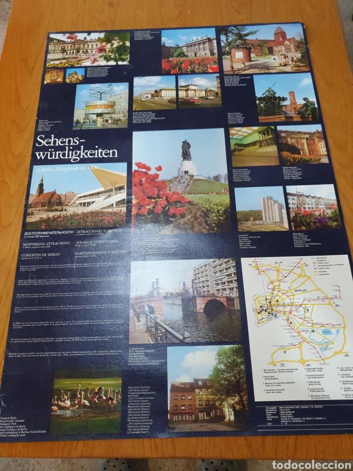 Carteles de Turismo: A dos caras, sehens - würdigkeiten, otro Ángel panorama der friedrichsgrachcht, 81 cm x 57 cm. - Foto 3 - 200103385