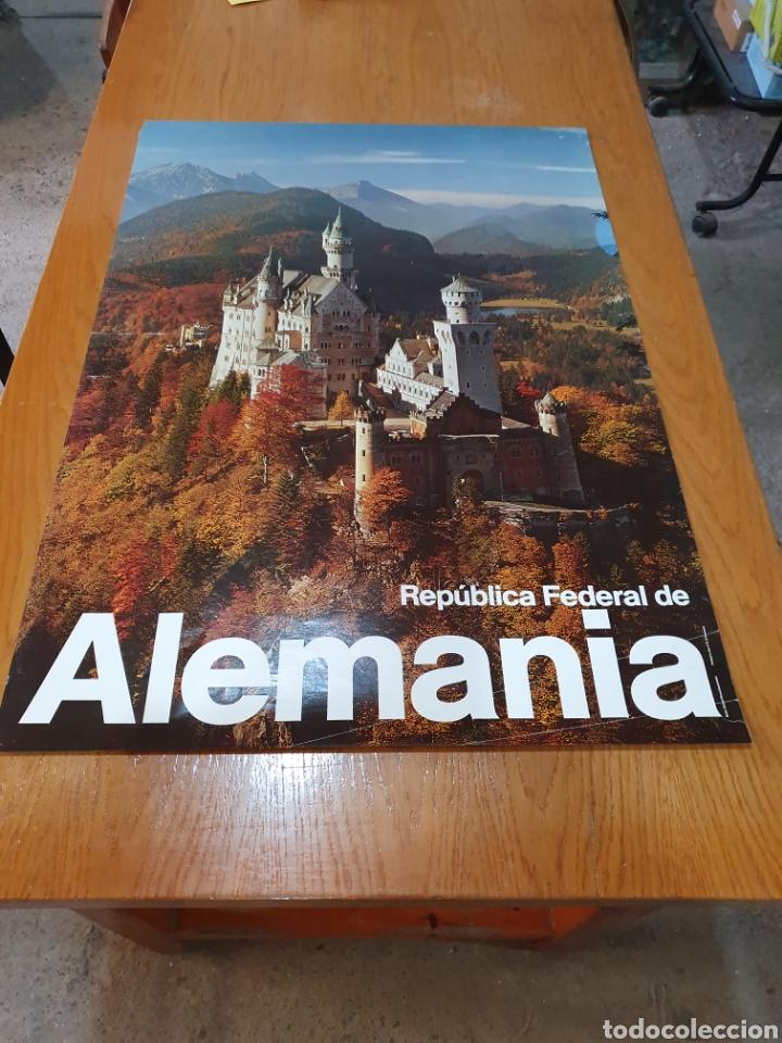 Carteles de Turismo: República federal de alemania, 84 cm x 59 cm. - Foto 2 - 200115438