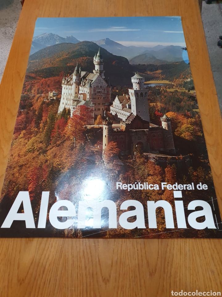 REPÚBLICA FEDERAL DE ALEMANIA, 84 CM X 59 CM. (Coleccionismo - Carteles Gran Formato - Carteles Turismo)