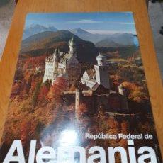 Carteles de Turismo: REPÚBLICA FEDERAL DE ALEMANIA, 84 CM X 59 CM.. Lote 200115438