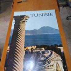 Carteles de Turismo: TUNISIE, DE LOS AÑOS 70, 98 CM X 64 CM.. Lote 200117231