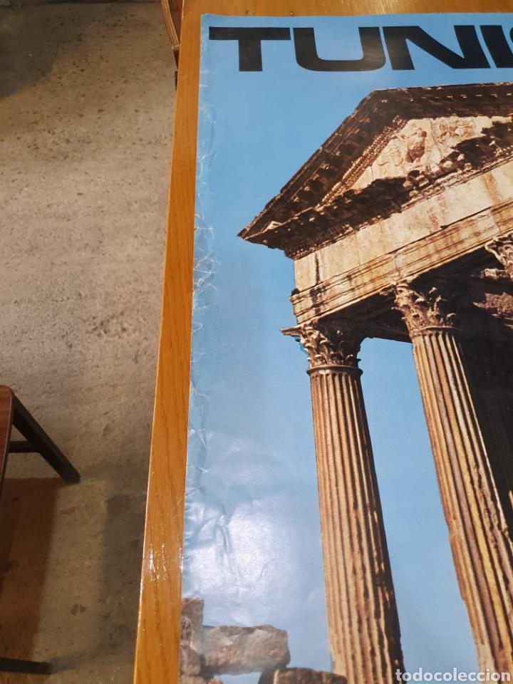 Carteles de Turismo: Tunisie, de los años 70, 100 cm x 70 cm. - Foto 5 - 200118355