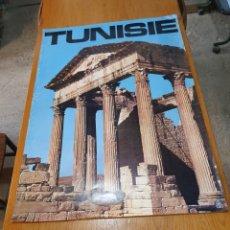 Carteles de Turismo: TUNISIE, DE LOS AÑOS 70, 100 CM X 70 CM.. Lote 200118355