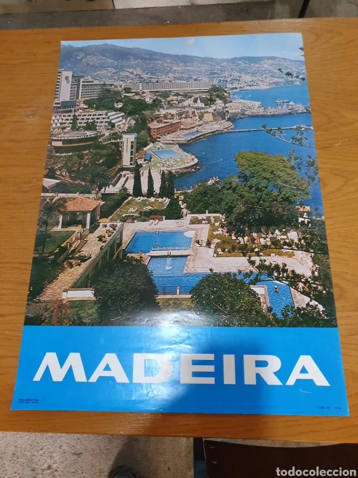 Carteles de Turismo: Madeira, del año 1981, 68 cm x 48 cm. - Foto 2 - 200120840