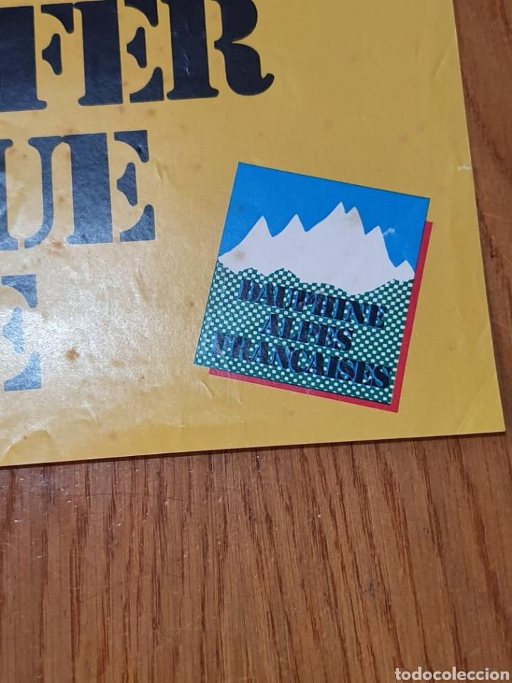 Carteles de Turismo: alpes, franceses, Chemin de fer touristique de la mure, 59 cm x 40. - Foto 7 - 200123526