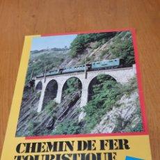 Carteles de Turismo: ALPES, FRANCESES, CHEMIN DE FER TOURISTIQUE DE LA MURE, 59 CM X 40.. Lote 200123526