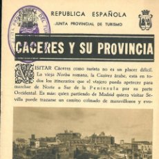 Carteles de Turismo: CÁCERES Y SUS PROVINCIAS. . Lote 197143921
