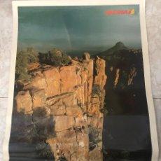 Carteles de Turismo: PÓSTER TURÍSTICO DE SUDÁFRICA. PUBLICITARIO DE IBERIA. AÑOS 70. PAPEL GRUESO ENMARCABLE. 48 X 68 CM.. Lote 205006817