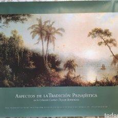 Carteles de Turismo: ASPECTOS DE LA TRADICION PAISAJISTICA EN LA COLECCION THYSSEN- BORNEMISZA. Lote 205315055