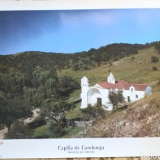 Carteles de Turismo: CAPILLA DE CANDONGA.PROVINCIA DE CORDOBA.ARGENTINA. Lote 205315577