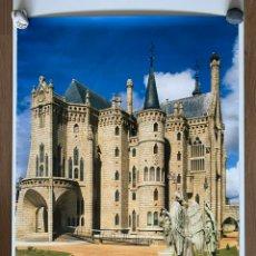 Carteles de Turismo: CARTEL O PÓSTER DEL PALACIO EPISCOPAL DE ASTORGA. CASTILLA Y LEÓN. ANTONIO GAUDÍ. 2002.. Lote 207389223