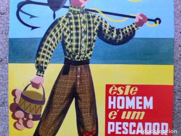 Carteles de Turismo: ANTIGUO CARTEL NAZARÉ (PORTUGAL) - Foto 3 - 207543566