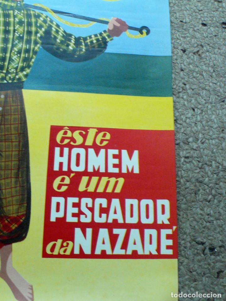 Carteles de Turismo: ANTIGUO CARTEL NAZARÉ (PORTUGAL) - Foto 7 - 207543566