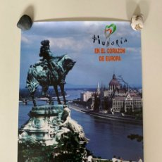 Carteles de Turismo: CARTEL O PÓSTER DE BUDAPEST, HUNGRÍA. ARTEGRAF S.A. FINALES DE LOS AÑOS 90.. Lote 207641998
