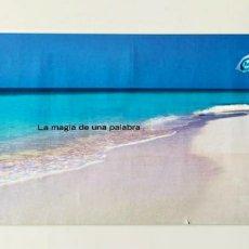Carteles de Turismo: CARTEL O PÓSTER DE CANCÚN, EL CARIBE, MÉXICO. AMERICAN EXPRESS. FINALES DE LOS AÑOS 90.. Lote 207642822
