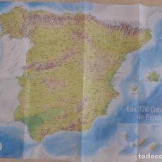 Affissi di Turismo: CARTEL COMARCAS DE ESPAÑA GEO V. Lote 207823248