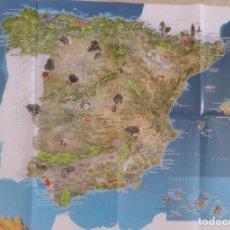 Affissi di Turismo: CARTEL ESPACIOS PROTEGIDOS DE ESPAÑA GEO V. Lote 207823308