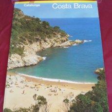 Carteles de Turismo: CARTEL GRAN TAMAÑO COSTA BRAVA. CATALUNYA.. Lote 208489541