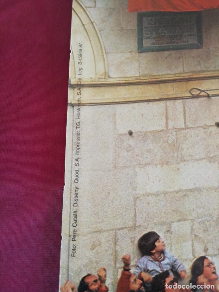 Carteles de Turismo: Cartel gran tamaño Castellers. Colla Vella dels Xiquets de Valls / Alt Camp. Catalunya. - Foto 2 - 208489885