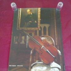 Carteles de Turismo: CARTEL EL VENDRELL. PAU CASALS. 1876 - 1973. Lote 208491528
