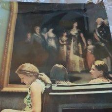 Carteles de Turismo: CARTEL 150 ANIVERSARIO MUSEO DEL PRADO. 1969. RARISIMO. 98 X 62 CM. Lote 208885675