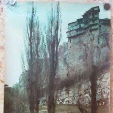Carteles de Turismo: ANTGUO CARTEL SPAIN ESPAÑA CUENCA FOURNIER VITORIA. Lote 209879835
