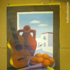 Carteles de Turismo: CARTEL ORIGINAL TURISMO DE ESPAÑA. ILUSTRADO POR GUY GEORGET. FOURNIER.. Lote 210185136