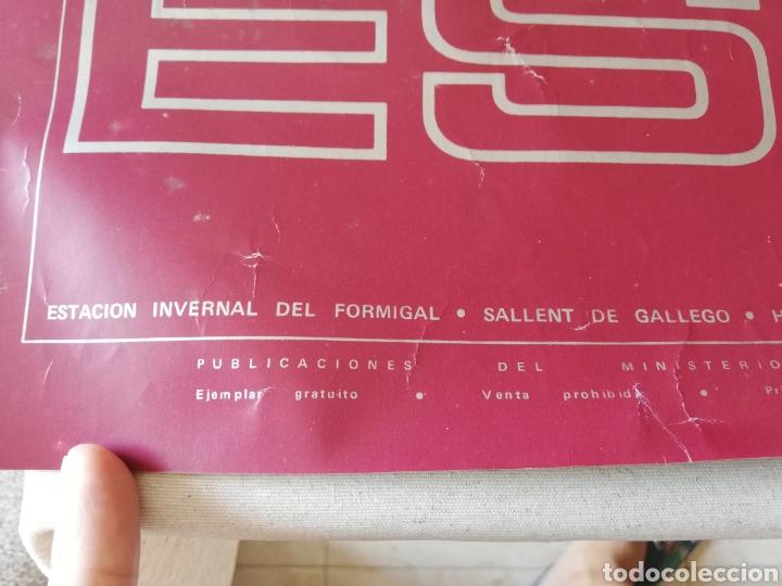 Carteles de Turismo: CARTEL ESPAÑA - ESTACION INVERNAL DEL FORMIGAL - PUBLICACIONES DEL MINISTERIO DE INFORMACIÓN Y TURIS - Foto 5 - 77616369