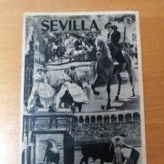 Carteles de Turismo: CARTEL FIESTAS DE PRIMAVERA SEVILLA. FOTOGRAFÍA SERRANO. Lote 215551603