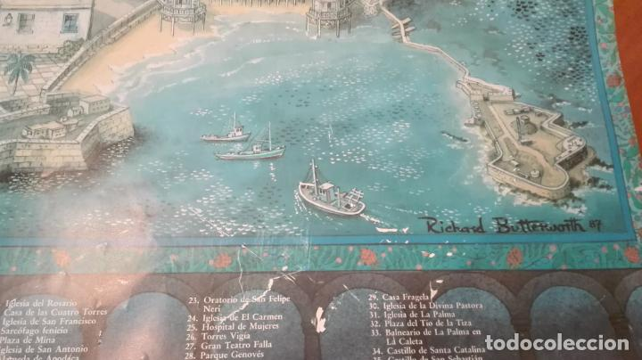 Carteles de Turismo: CARTEL DE CÁDIZ - EDITADO POR UNICAJA - 1987 - MIDE 93X68 CM. - Foto 2 - 216415568