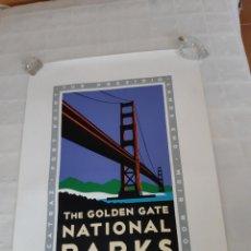 Carteles de Turismo: POSTER THE GOLDEN GATE NATIONAL PARKS. 1998. Lote 217271540