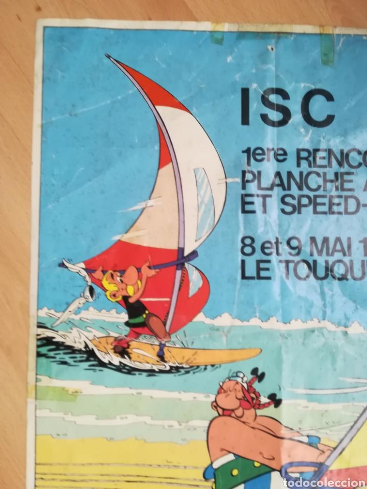 Carteles de Turismo: I ENCUENTRO DE WINDSURF Y VELA DE VELOCIDAD. Le Touquet. Mayo 1982. - Foto 2 - 218811173