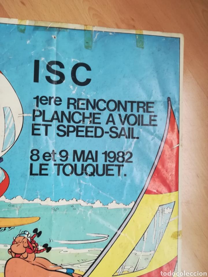 Carteles de Turismo: I ENCUENTRO DE WINDSURF Y VELA DE VELOCIDAD. Le Touquet. Mayo 1982. - Foto 3 - 218811173