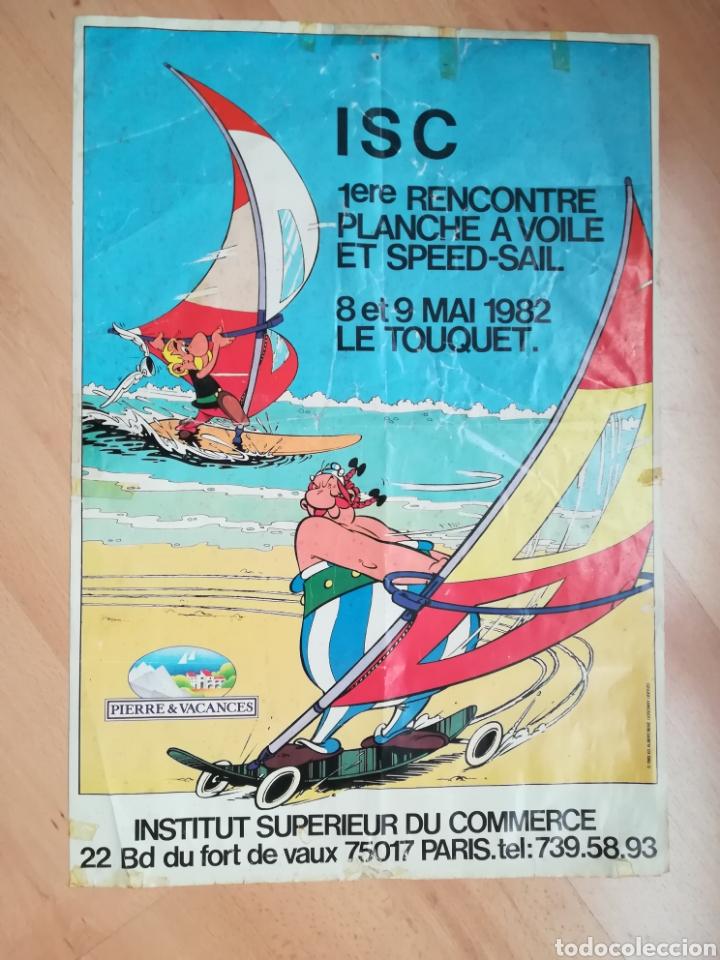 I ENCUENTRO DE WINDSURF Y VELA DE VELOCIDAD. LE TOUQUET. MAYO 1982. (Coleccionismo - Carteles Gran Formato - Carteles Turismo)